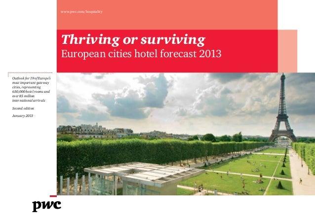 Pwc european-cities-hotel-forecast-2013