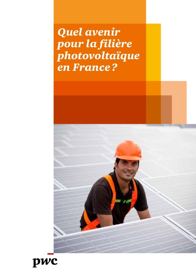 Quel avenirpour la filièrephotovoltaïqueen France?