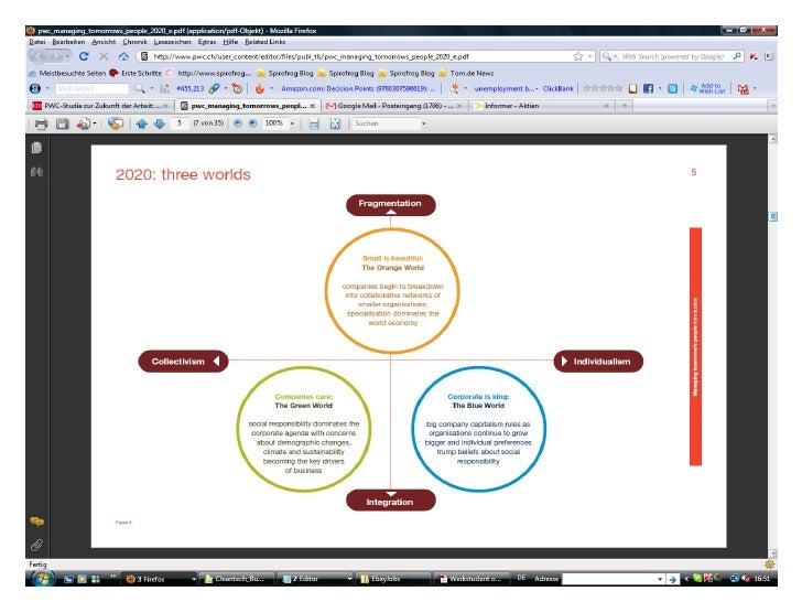 Pwc  study - the future of work