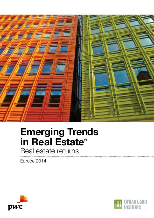Etude PwC/ULI Emerging Trends in Real Estate® Europe 2014