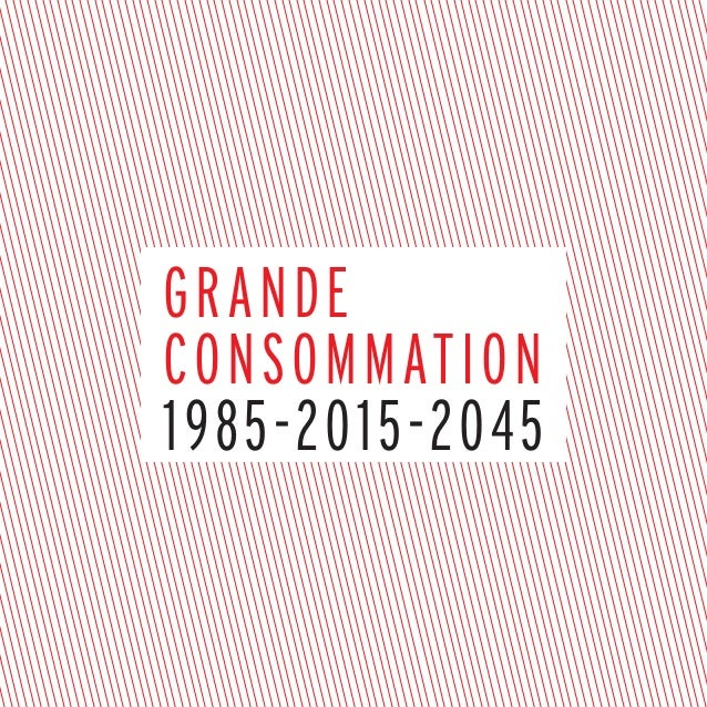 grande consommation 1985-2015-2045
