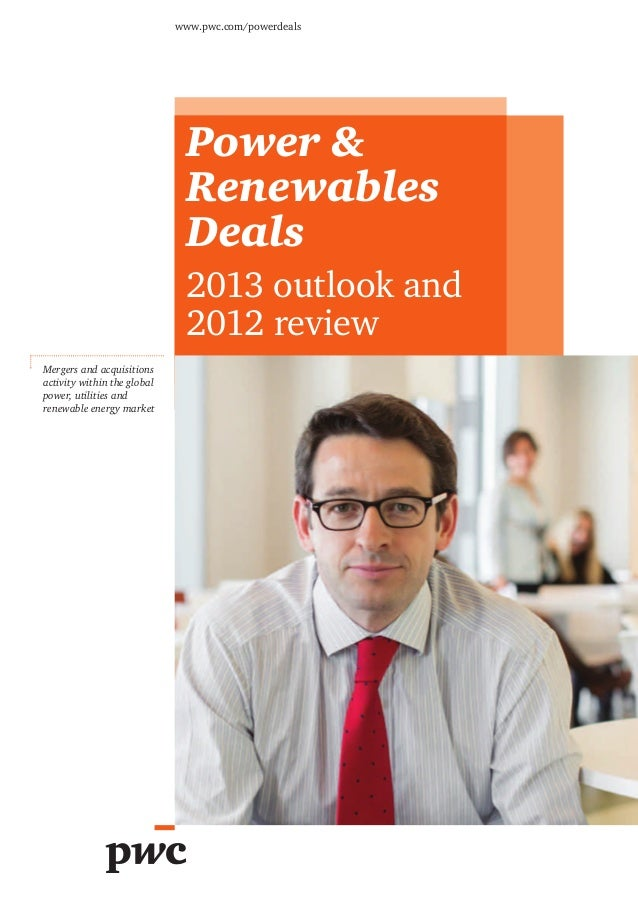 www.pwc.com/powerdeals                              Power &                              Renewables                       ...