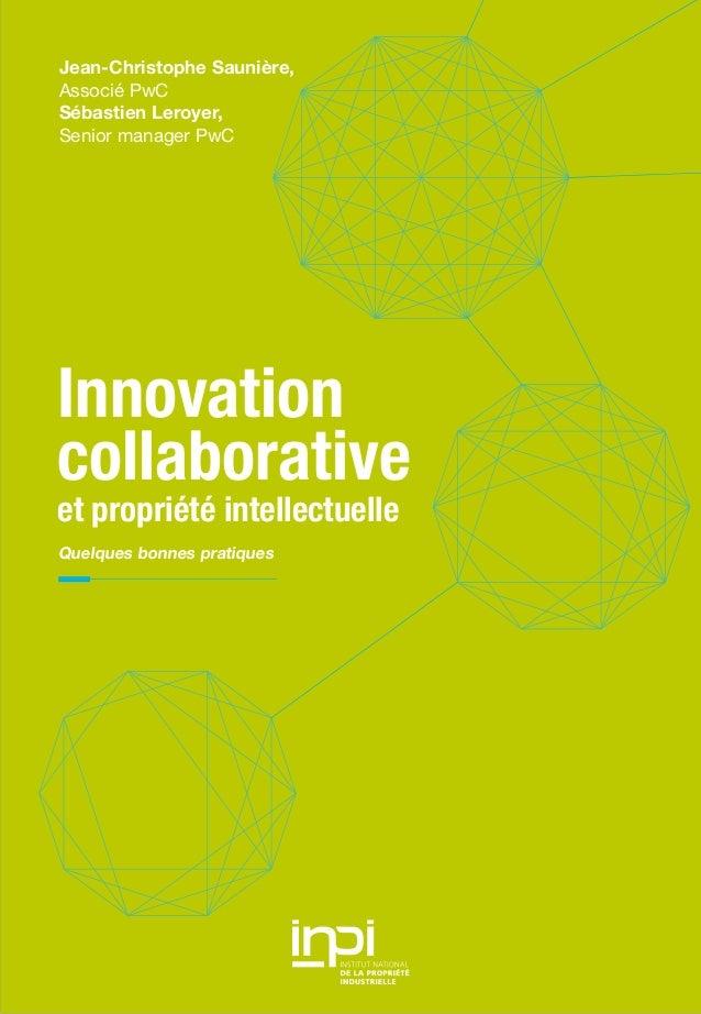Etude PwC sur l'innovation collaborative et la propriété intellectuelle (2012)