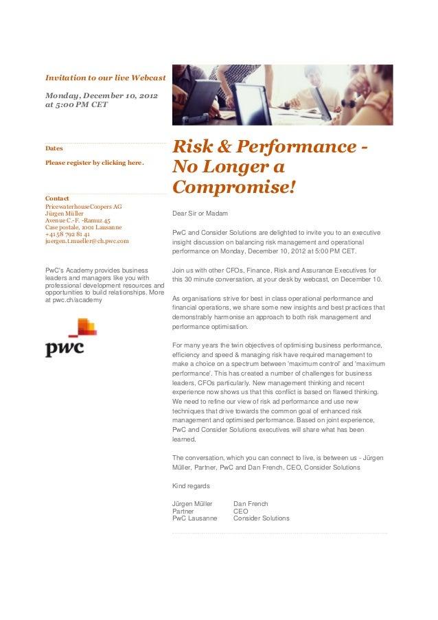 Pwc event 121210_webcast_risk_performance_e