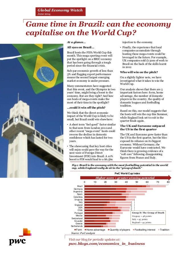 PwC Global Economy Watch (juin 2014)