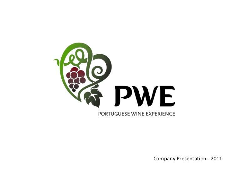 Company Presentation - 2011