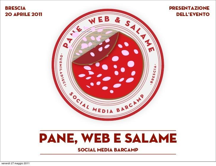 Pane web e salame - Supportaci!