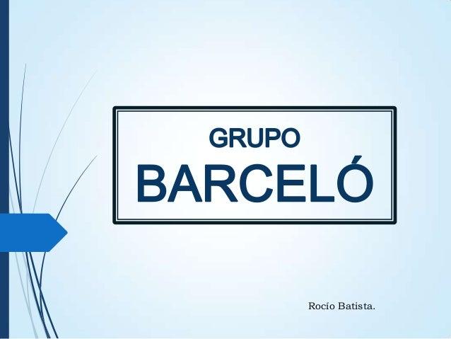 GRUPO BARCELÓ