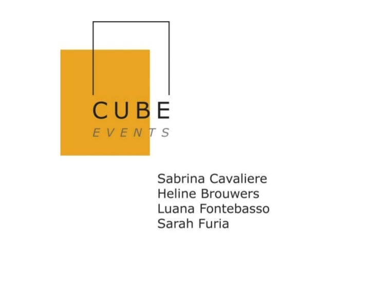 Cube Events for BMW van Osch