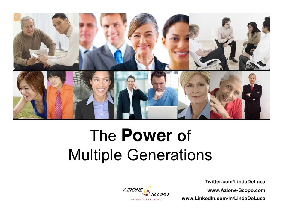 The Power of Multiple Generations