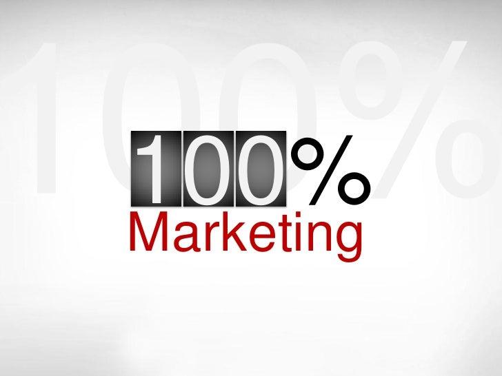 100% Marketing