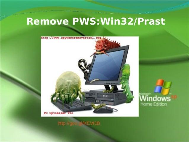 Uninstall Pws:win32/Prast