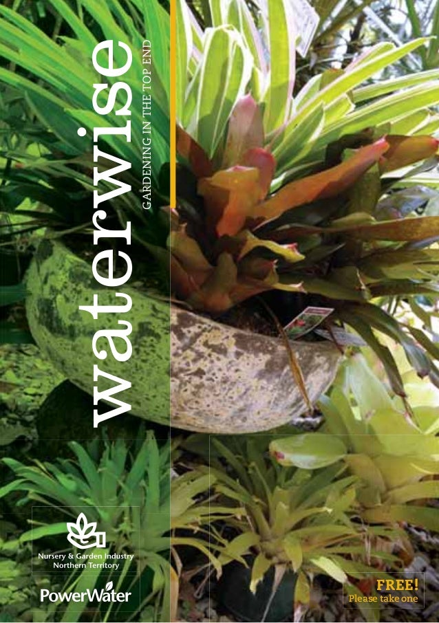 Waterwise Gardening Manual in the Top End - Australia