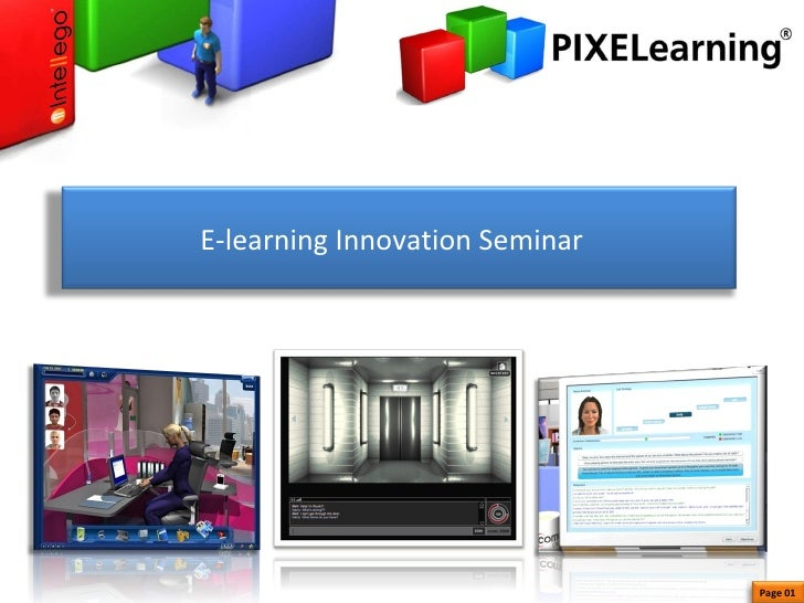 E-learning Innovation Seminar  Page 01