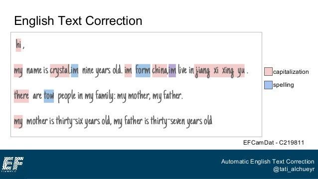 Corrector english