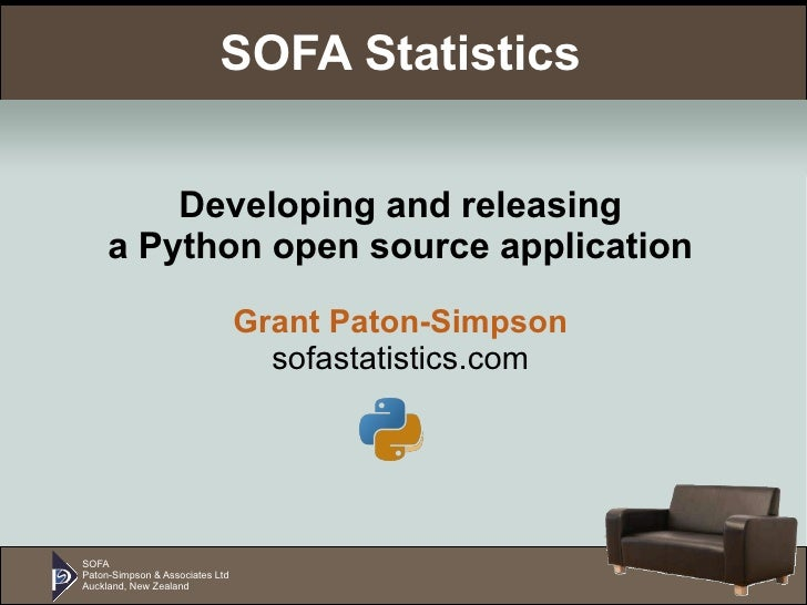 Developing and releasing SOFA Statistics