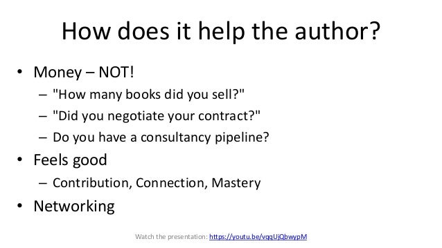 How to write about the author