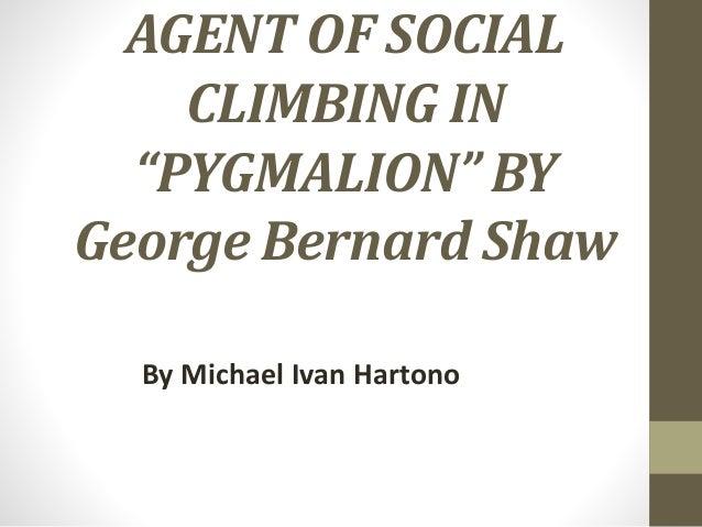 pygmalion essays themes