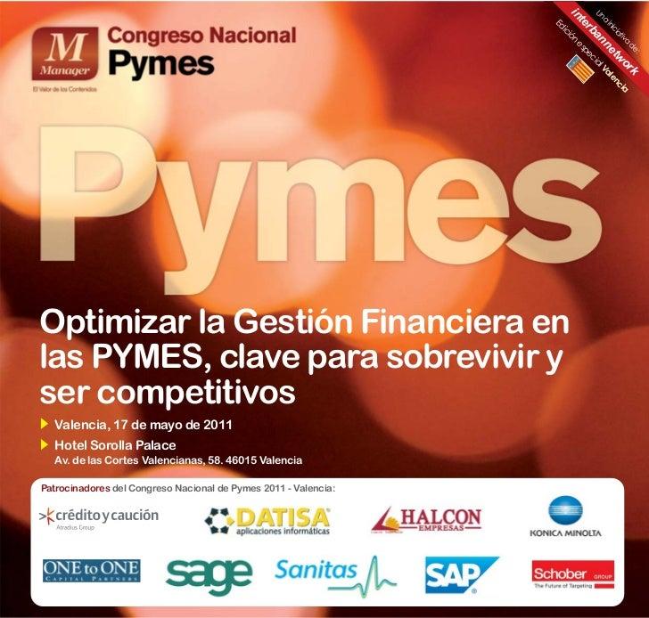 Congreso Nacional de PYMES 2011 en Valencia