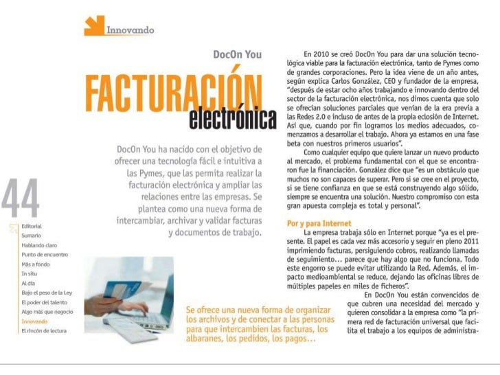PymeSeguros: DocOnYou, innovación en facturación electrónica