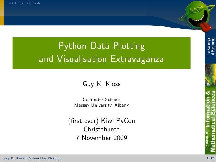 Python Data Plotting and Visualisation Extravaganza