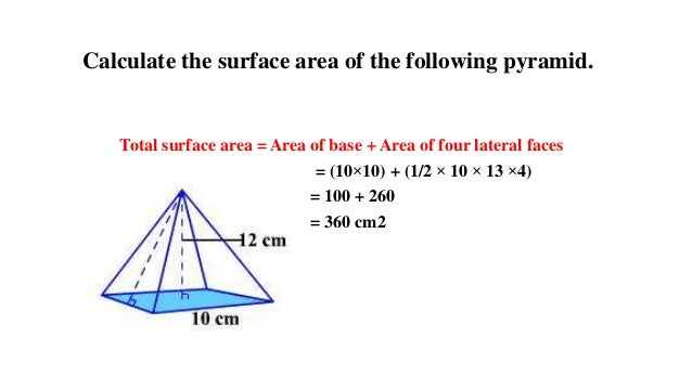 how to find the height of a hexagonal pyramid