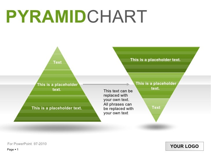 PYRAMID CHART This text can be replaced with your own text. All phrases can be replaced with your own text  For PowerPoint...