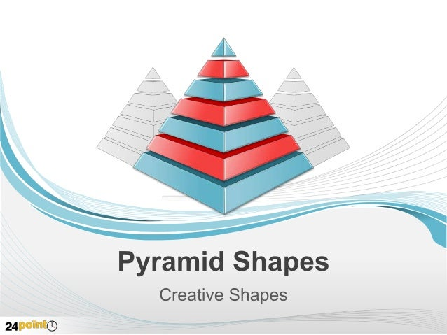Pyramid Shapes - Editable and Customizable PowerPoint