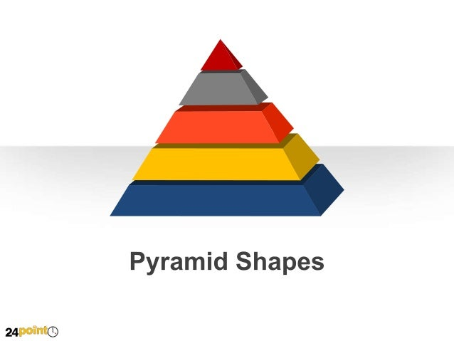 Pyramid Shapes  A  B  C  1st Row Text  2nd Row Text  3rd Row Text