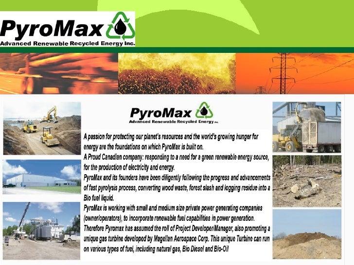 Pyromax, Btg, Mag Presentation 2008