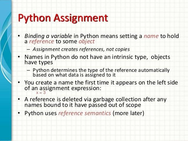 Python tuple assignment
