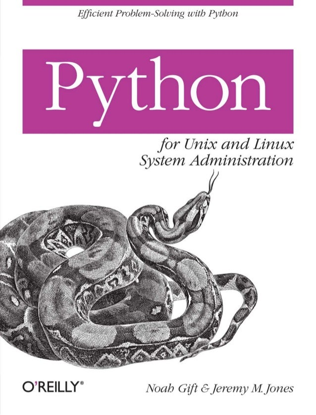 Python for-unix-and-linux-system-administration