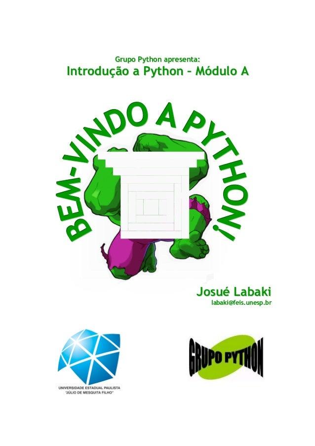 Python   introdução