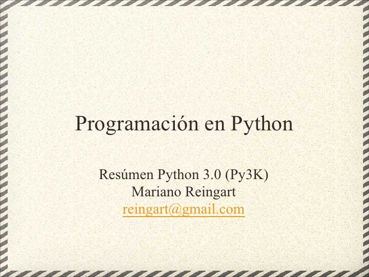 Python3000