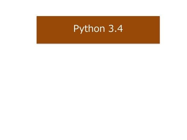 Python 3.4
