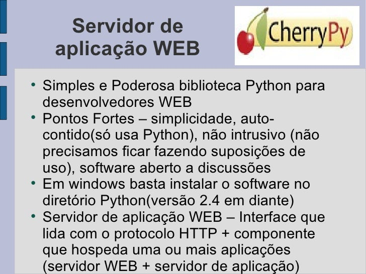 Python cherrypy