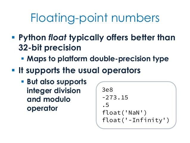 Binary integer in python