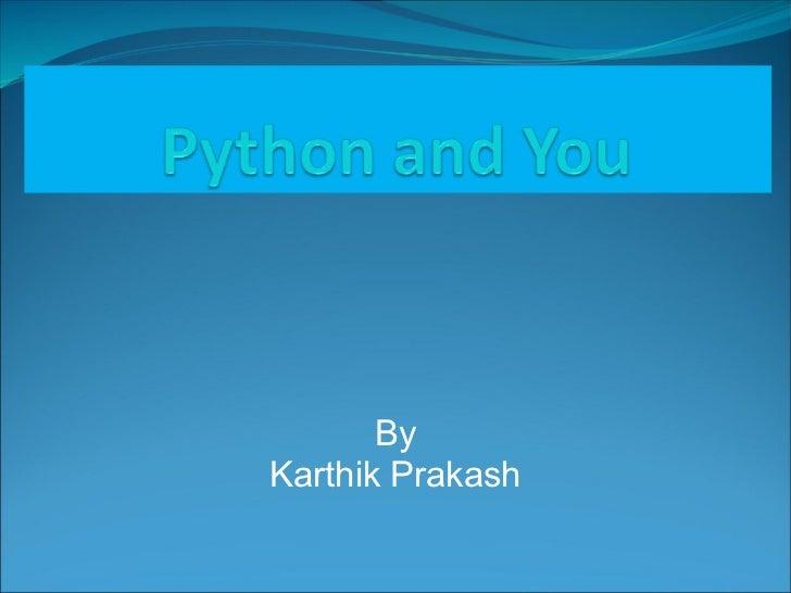 ByKarthik Prakash