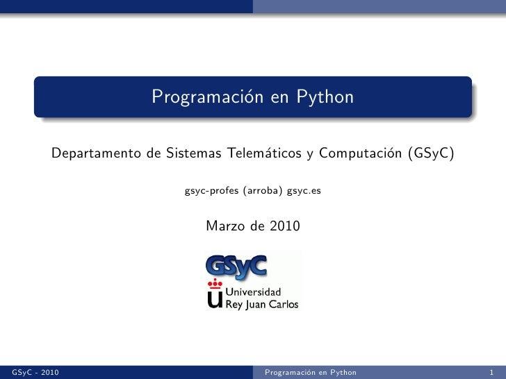 Python i
