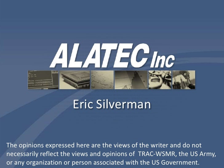 Eric Silverman<br />The opinions expressed here are the views of the writer and do not necessarily reflect the views and o...