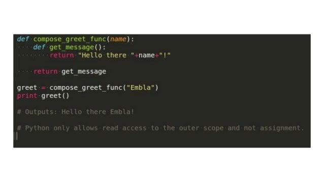 Python master class 2 for Decorator python
