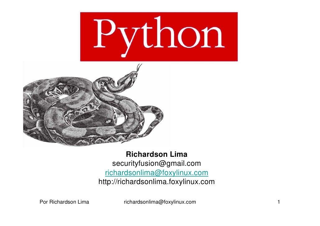 Richardson Lima                            securityfusion@gmail.com                         richardsonlima@foxylinux.com  ...