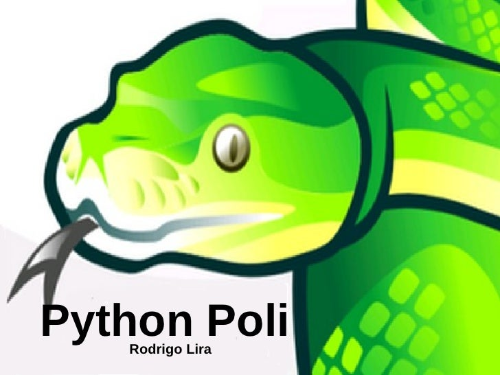 Python Poli 2010