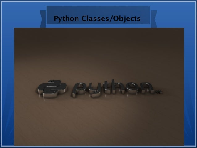 Python Classes/Objects