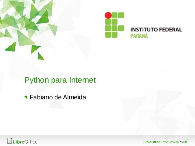 Python e frameworks web