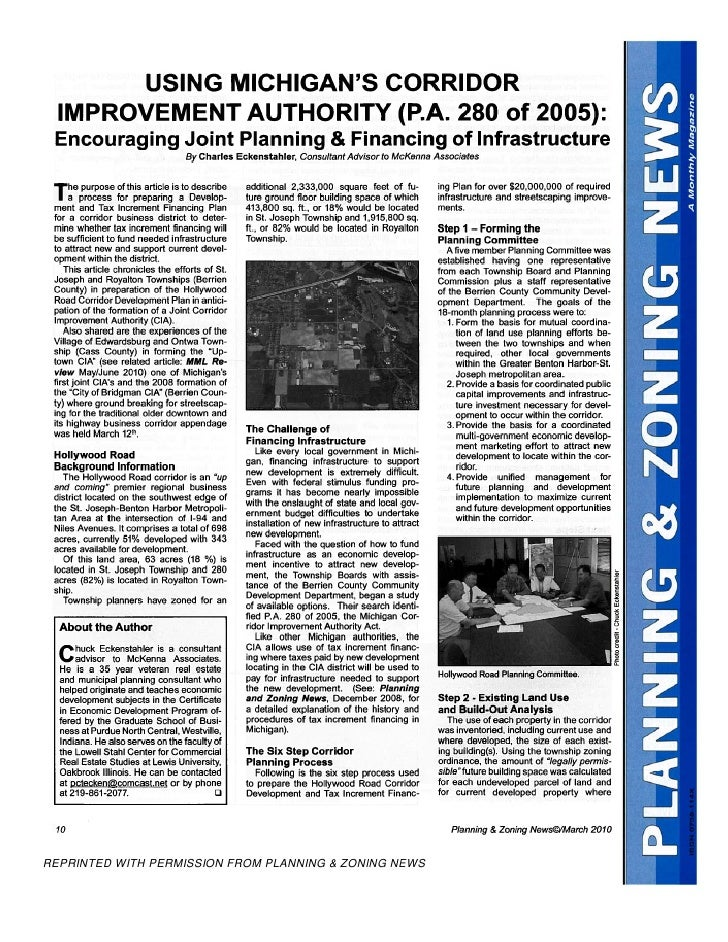 P&Z  Corridor Article