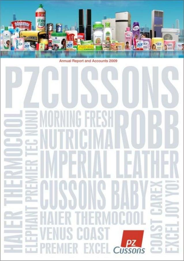 PZ Cussons  Annual Report 2009