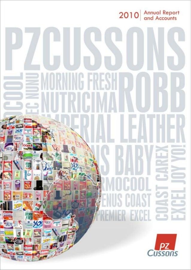 PZ Cussons  Annual Report 2010