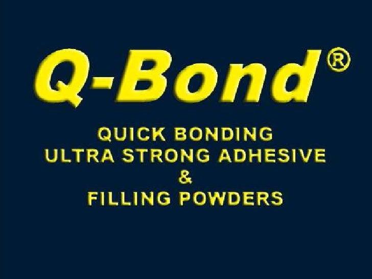 Q bond hardware slide show