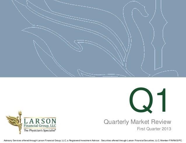 Quarterly Market Review                                                                                                   ...